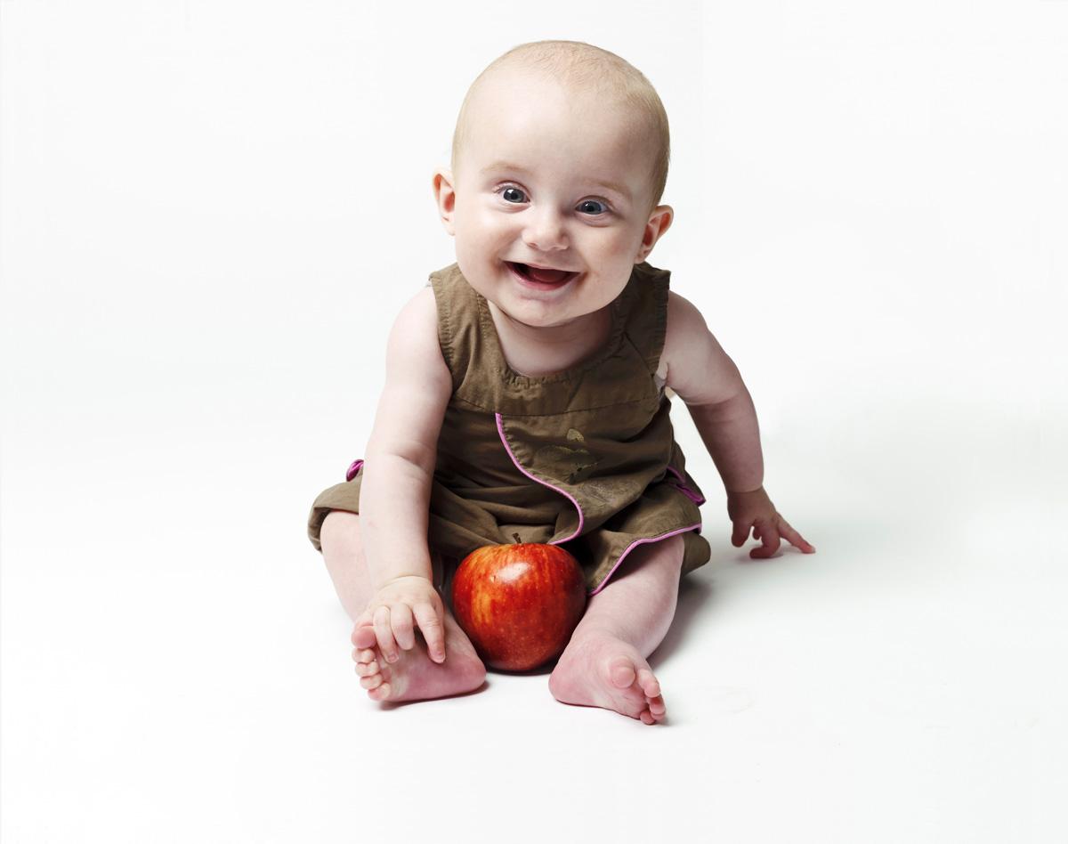 Des bébés et des Pommes